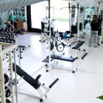 La sala fitness